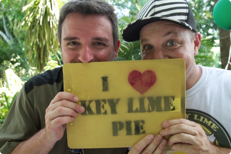 David L Sloan and Marky Pierson Creators of the Key Lime Festival in Key West