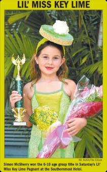 Lil Miss Key Lime 2013