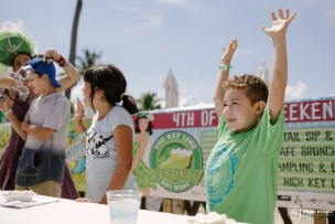 Key Lime Festival Pie Eating Contest at the Southernmost Beach Resort