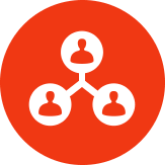 icon of people networking