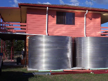 Stainless Rain Water Tank