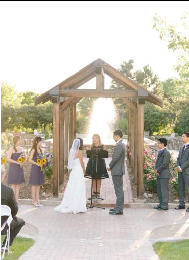 Tangerine room events and decor grace mario denver wedding hudson gardens for Hudson gardens concert schedule