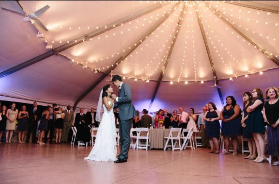 Tangerine Room Events And Decor Grace Mario Denver Wedding Hudson Gardens