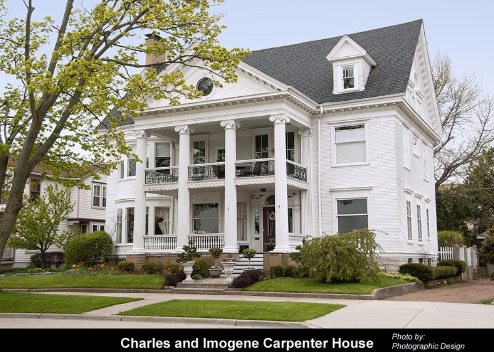 Preservation Racine - Carpenter on bachelor house design, guard house design, prairie house design, blue bird house design,