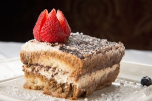 tiramisu dessert; click image to view gallery of food photos