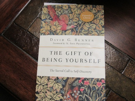 Quote by David G. Benner from his book The Gift of Being Yourself/ Used in The Word Weaver blog post