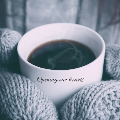 Opening our hearts/ Questions for the soul in this Word Weaver blog post