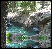 liquid pool cover on custom shape pool
