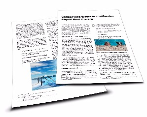 Conserving Water in California White Paper