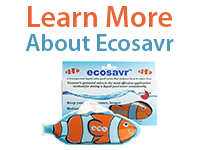 Learn more about Ecosavr, the liquid pool cover fish for residential pools