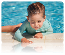Heatsavr is safe for children in swimming pools