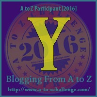 Yard - A to Z Blogging Challenge