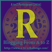 Reduce, Reuse, Recycle - A to Z Blogging Challenge