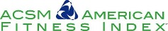 ACSM American Fitness Index Logo