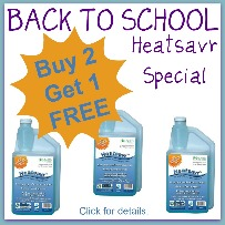 Back to School Heatsavr Special
