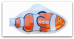 Ecosavr liquid pool cover fish