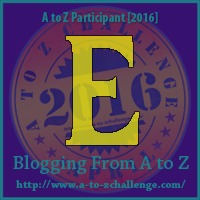 E is for Enivornment - A to Z Blogging Challenge