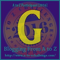 G is for Gutter - A to Z Blogging Challenge