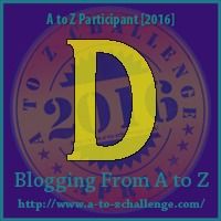 D is for Drought - A to Z Blogging Challenge