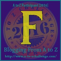 F is for Flocculant - A to Z Blogging Challange