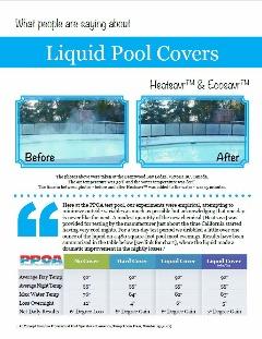 Liquid Pool Covers Testimonials Booklet
