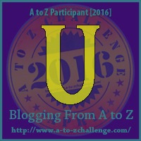 UV Treatment - A to Z Blogging Challenge