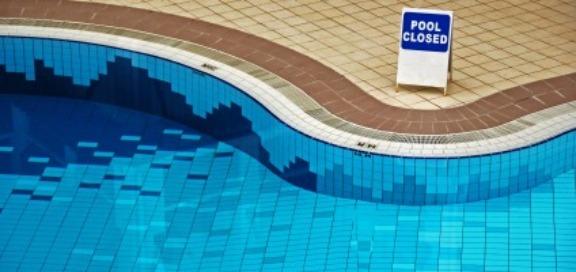 Pool closed image