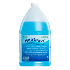 Heatsavr liquid pool cover 1 gallon jug