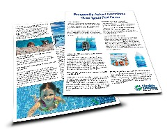 Heatsavr liquid pool cover brochure