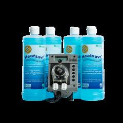 heatsavr liquid pool cover and automatic pump