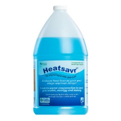 heatsavr liquid solar pool cover gallon jug