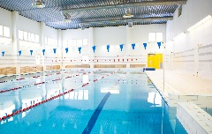 indoor commercial swimming pool