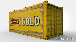 XXXX GOLD Modified Shipping Container