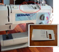 Bernina 1000 Stitch Length Plate