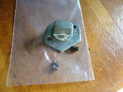 Gimbels Sewing Machine feed dog drop knob