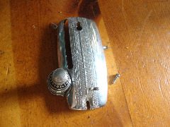 Gimbels Sewing Machine presser bar cover & thread tension assembly