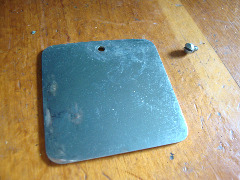 Gimbels Sewing Machine rear access plate