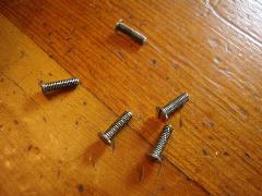 Sears Kenmore 1303 Sewing Machine Faceplate Screws