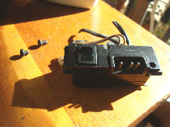 Sears Kenmore 1784 power switch & power receptacle