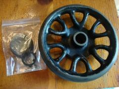 Singer 15K Sewing Machine Spoked Balance Wheel