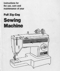 Dressmaker 300Z Sewing Machine PDF Manual