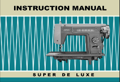 Visetti Super De Luxe Sewing Machine PDF Manual