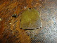 Vintage Domestic Vibrator Sewing Machine Front Access Plate