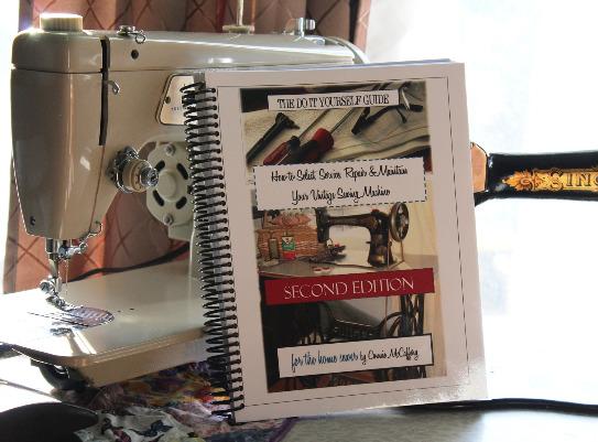 Best Selling Spiral Bound Sewing Machine Repair Book