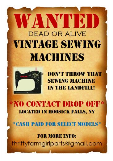 Vintage Sewing Machine Service and Repair
