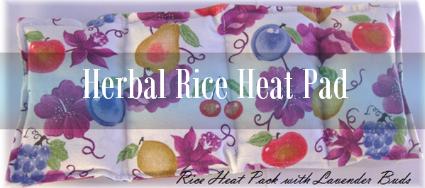 Lavender Aromatherapy Rice Heat Pad