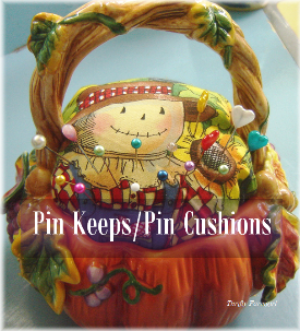 Pin keeps aka Pin Cushions