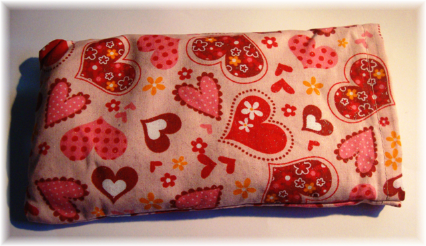 Hearts Herbal Eye Pillow