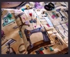Sewing Notions Roll up Carry Case