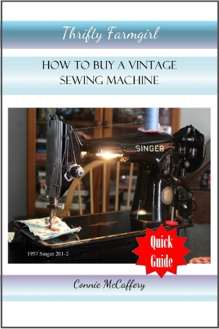 How to Buy a Vintage Sewing Machine Quick Guide